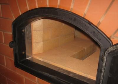 Хлебная духовка изнутри